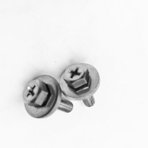 带垫螺栓组合